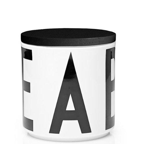 Design Letters Mini Multi Jar (black wooden lid included)