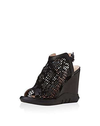 LEA FOSCATI Sandale Arles schwarz
