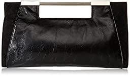 Halston Heritage Lauren E/W Clutch, Black, One Size