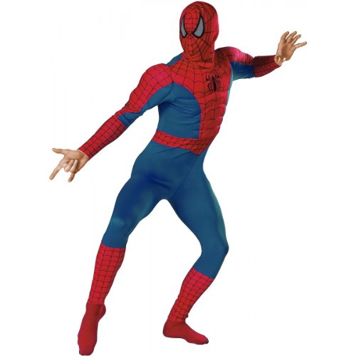 SPIDERMAN ADULT MUSCLE CHEST