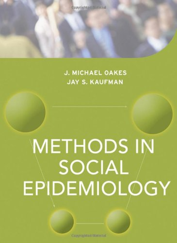 Methods in Social Epidemiology (Public...
