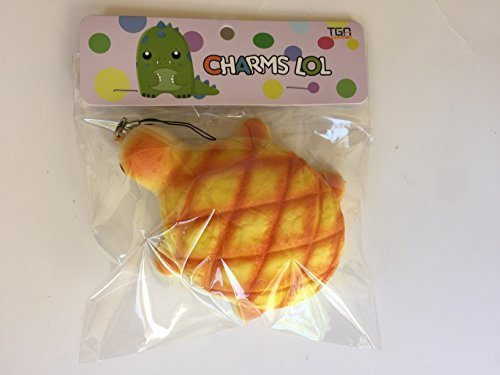 Jumbo Turtle Melon Pan Bun Squishy