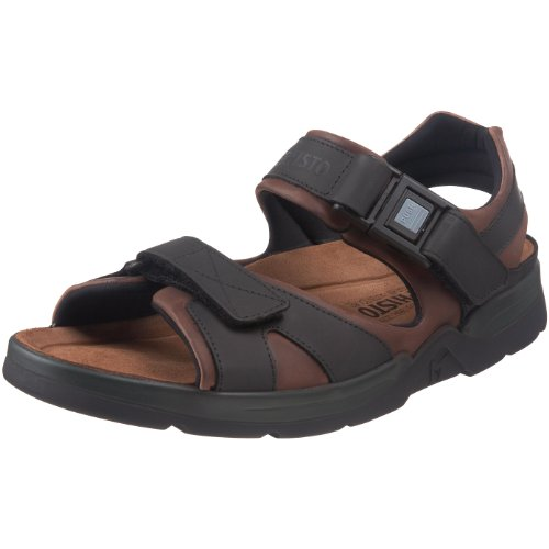 Mephisto Men's Shark Fit Sandal,Dark Brown,11 M US - 1