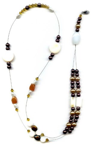 Carnelian & Pearls Necklace