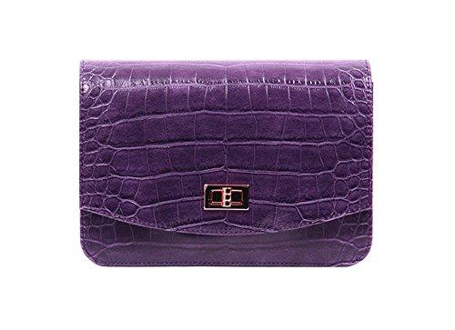 dearwyw-unique-crocodile-skin-pattern-mini-shoulder-cross-body-bag-purple