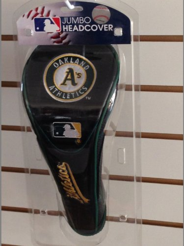 Jumbo Golf Headcover (Oakland Athletics) - 1