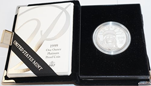 1999 W American Eagle Platinum $100 Perfect Uncirculated US Mint