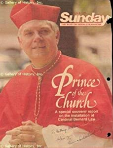 Bernard Cardinal Law - Annotated Magazine Cover Signed - Autographed College... by Sports+Memorabilia