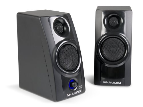 M-Audio Studiophile AV 20 Portable Desktop Speaker