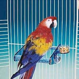 Bird Perch Pedicure - Penn Plax ACRYLIC/CEMENT PERCH XLARGE