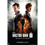 Doctor Who Day of the Doctor 50th Anniversary TV Poster