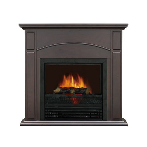[Black Friday] Flametec 190-2628FCN 1250-Watt Electric Fireplace Heater w/17-Inch Firebox, Floor Standing, Chestnut picture B00BAOXQX8.jpg