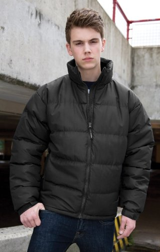 Mens Result Holkham Down Feel Jacket XXX-Large Black
