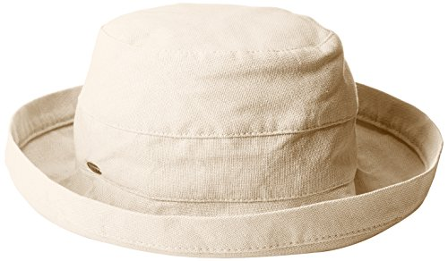 scala-womens-medium-brim-cotton-hat-linen-one-size