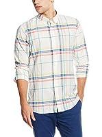 Springfield Camisa Hombre (Crudo / Multicolor)