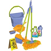Kidzlane Durable Kids Cleaning Set With Pretend Play House Cleaning Tools