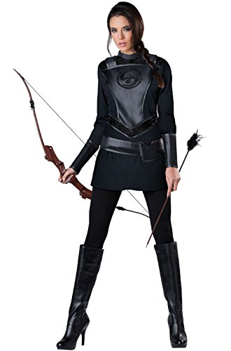 [Mememall Fashion Warrior Huntress Women Hunger Games Adult Costume] (Legend Of Sleepy Hollow Costumes)
