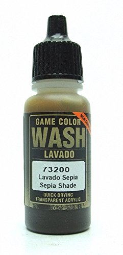 Vallejo Sepia Wash, 17ml