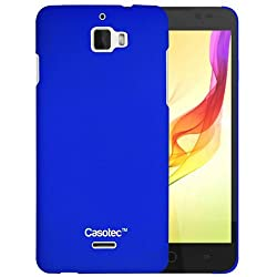 Casotec Ultra Slim Hard Shell Back Case Cover for Coolpad Dazen 1 - Dark Blue