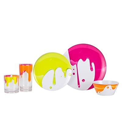 Zak Designs Paint Dinnerware Collection