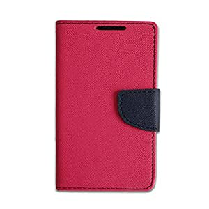 YORA Flip Cover For Micromax Bolt Q333 Customised New Design Perfect Fitting Video Stand View Flip Cover Case