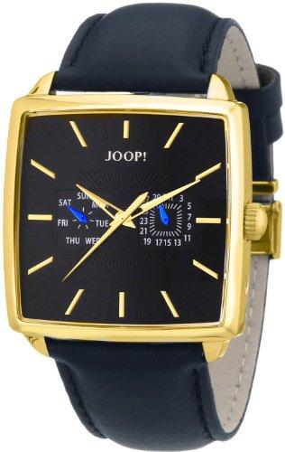 Joop! Vibes JP100641F04 - Reloj para hombres, correa de cuero color negro