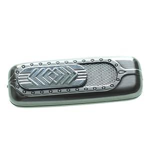-WELTNEUHEIT- Designer USB Feuerzeug: Glühspirale, benötigt kein Gas und kein Benzin, wird durch USB aufgeladen in Silber