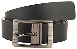 Jackblack Men's Leather Belt (SEVP001, Black, 34)