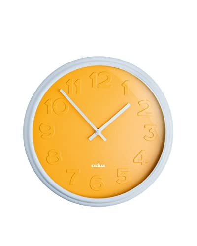 Enjoy Home Reloj De Pared Color Time Amarillo