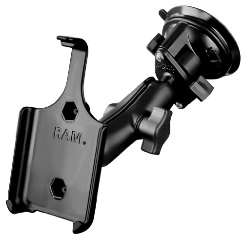 RAM Mounting Systems Suction Cup Car Mount for Apple iPhone 4