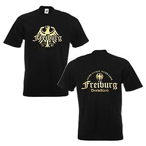 T-Shirt Freiburg, meine Heimat meine Liebe, Städteshirt S-5XL (SFU08-30a)