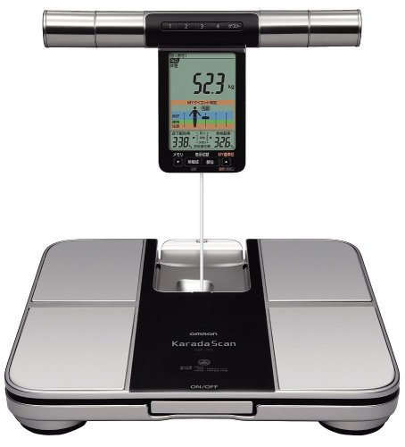 Buy Low Price Omron KARADA Scan Body Composition & Scale | HBF-701 (Japanese Import) (HBF-701)