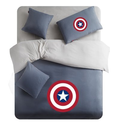 captain america 5pc bedding set 4 pieces captain america the winter