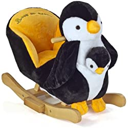 knorr-baby 60053 Schaukelpinguin 2 in 1, Peter