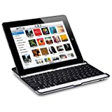 APPLE IPAD 2 METALLIC BLUETOOTH KEYBOARD / STAND / CARRY COVER PART OF THE QUBITS ACCESSORIES RANGEby Qubits