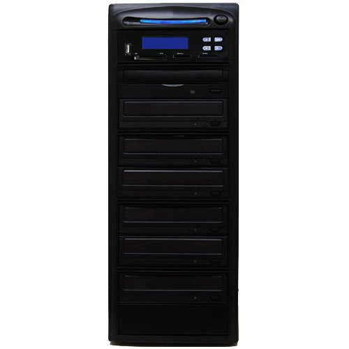 SySTOR M-Disc Support All-in-One Multi-Media Flash Memory Back-up USB/SD/CF/MS/MMC to 1-6 CD DVD Duplicator (Kingston Cf 8gb compare prices)