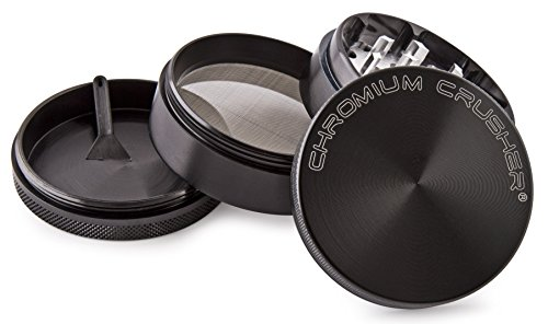 Chromium-Crusher-25-Inch-4-Piece-Tobacco-Spice-Herb-Grinder-Pick-Your-Color