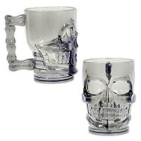 Beistle 57849 Plastic Skull Mug, 20-Ounce by The Beistle Company
