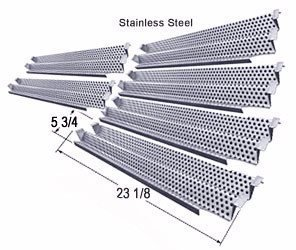 BBQ Grill Viking Flame Tamer SS Heat Plate 6pak 94081-6 VIKHP294081-6 (Ss Bbq compare prices)