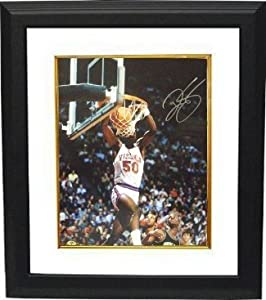 Ralph Sampson signed Virginia Cavaliers 16x20 Photo Custom Framed