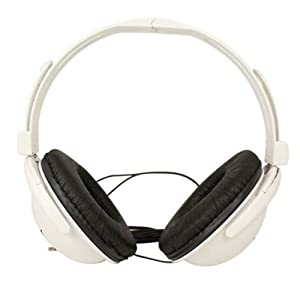 New 3.5mm Fashion Bass Stereo Headphones Portable for Iphone Ipad MAC Pc Mp3 White
