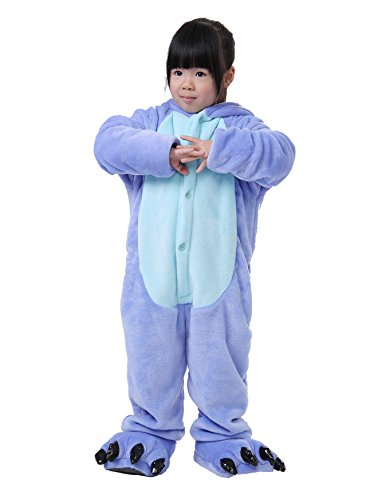 FashionFits Kid's Unisex Animal Cosplay Costume Onesie Jumpsuit Pyjamas Homewear