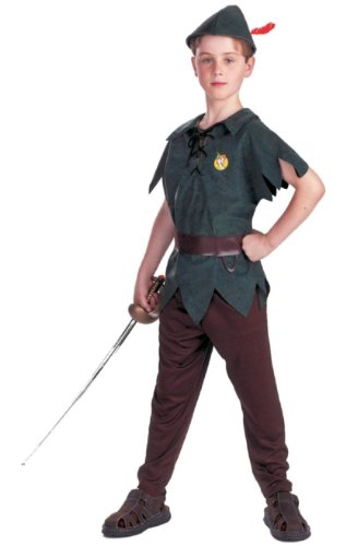 Peter Pan Costume - Child Costume Standard