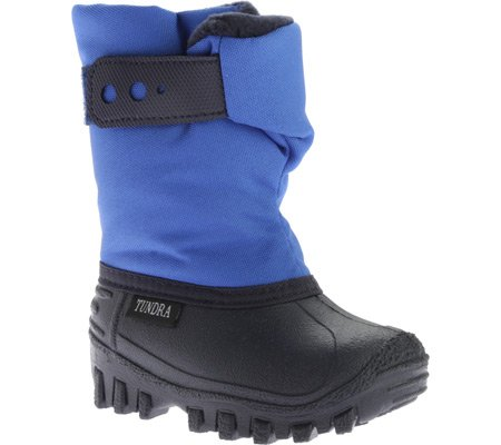 Tundra Unisex Teddy Winter boot (Infant/Toddler/Little Kid), Royal, 6 M US Toddler