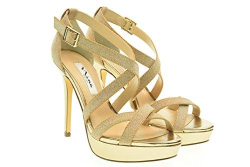 NINA donna sandali SEVILLA-Y GOLD 40 Oro