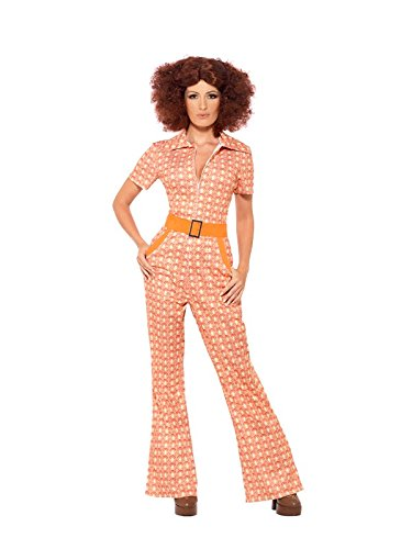 Smiffy's Adult Authentic 70s Chic Costume - S, M, L, XL