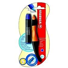 Stabilo EASYoriginal - Bolígrafo de punta rodante para zurdos, color naranja
