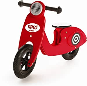 Tidlo Scooter Balance Bike (Red)