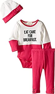 kate spade york Eat Cake for Breakfast Set (Baby)