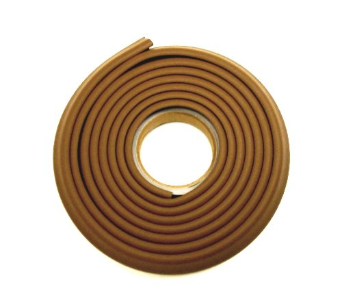Kids Edge Cushion Padding 1X1 In.Brown 100 Ft. W/Tape front-763567